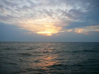 Sunset Lake Michigan Stock 2 by Enchantedgal-Stock