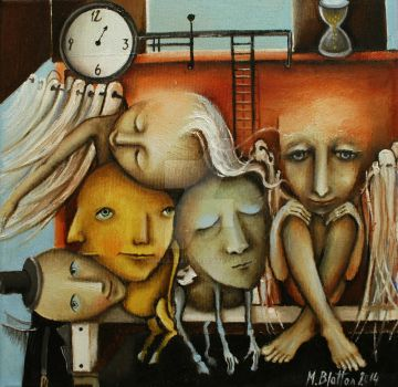 Waiting Room Of Souls by Monica-Blatton