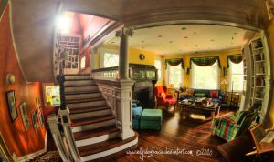 Kalish House HDR -Sitting Room by ellysdoghouse