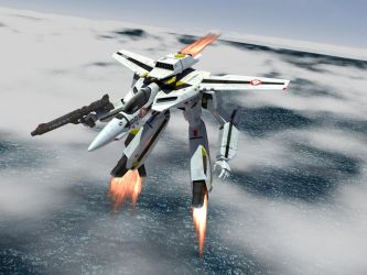 The Guardian - VF-1S by asgard-knight