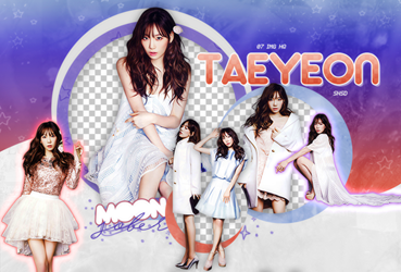 TAEYEON//SNSD-PNGPACK#4 by MoonSober