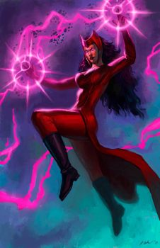 Scarlet Witch by Level20Artist