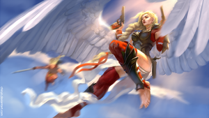 Red Angels by chirun