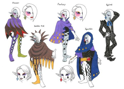 Ghirahim concept clothes by Megaloceros-Urhirsch