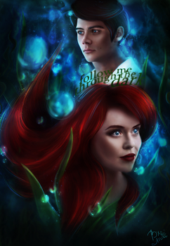 Stydia AU | Ariel and Eric by bxromance