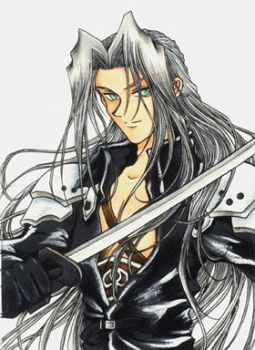 Sephiroth from FFVII by cat-cat
