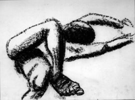 Charcoal drawing 02 by TheSpazOutLoud