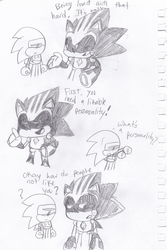 .:SONIC THE HEDGEHOG:. How to be liked. by Implosion-Explosion