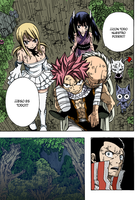 Fairy Tail 231 Natsu And Group by Spitfire95