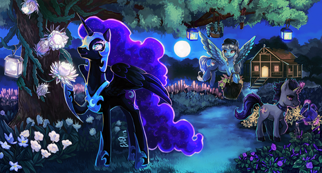 Nightmare's Retirement by The-Keyblade-Pony