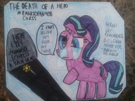 The Death of a Hero by MARIOFAN96STAR