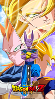Collabs-Dragon Ball Z Battle of Gods by MilarS