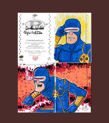 Cyclops Marvel Premier 2017 by Glwills1126