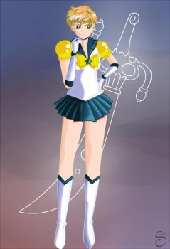 Eternal Sailor Uranus by spike110