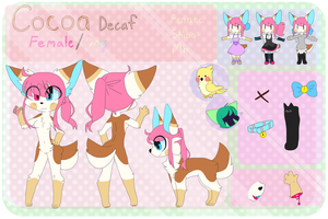 Cocoa Decaf Ref Sheet December 2017 by SushPuppy