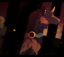 [Art Fight] We begin at sunset by Claudsyi
