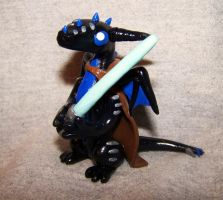 Jedi Dragon Sculpture by ByToothAndClaw
