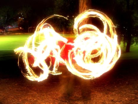 Fire Twirlin' by f-i-r-e-y