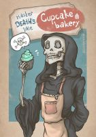 Master Death's little cupcake bakery by InsaneNudl