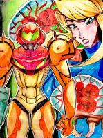 METROID by Artfrog75