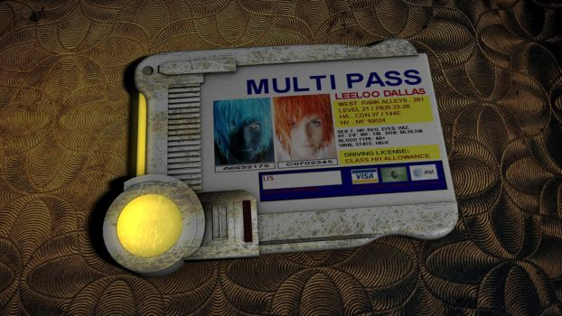5th Element - Multipass by 100SeedlessPenguins