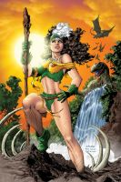 Savage Land Rogue by chachimpski