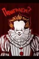 Pennywise by WandererSea