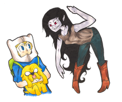 Adventure Time is what the Cool Kids Watch by Stereospirit
