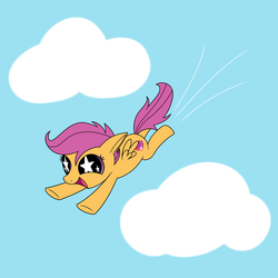 Flying Chicken by The-SiLvER-Brony