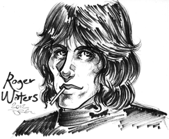 Roger Waters by D-MATSUYAMA