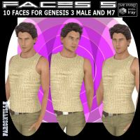 G3M/M7 faces 5, by Farconville by FantasiesRealmMarket