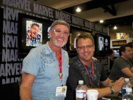 Charlie Adler and Steve Blum by OneRadicalDude