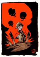 Soldier Kid ! by willymerry