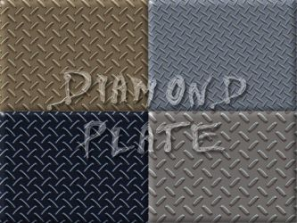 Diamond Plate by fission1