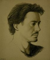 RDJ as Dito Montiel by Hallpen
