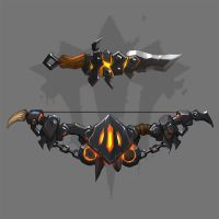Iron Horde weapons concept by funzee