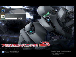 Full Metal Panic Login Theme 2 by laserguidedfilms