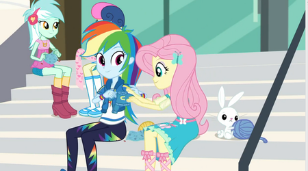 MLP Equestria Girls Queen of Clubs  Moments 4 by Wakko2010