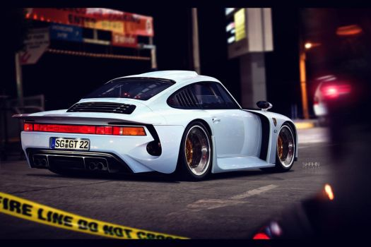Porsche 959 Moby-Dick by tuninger