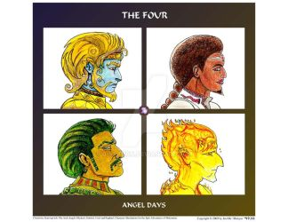 The Four - Angel Days by j-saturn