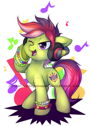 YCH Just my music and I by Pingwinowa
