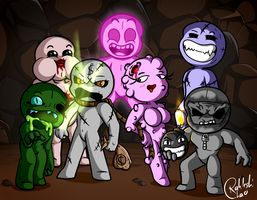 The Seven Deadly Super Sins by RahkshiChao