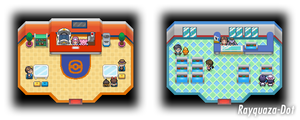 Pokemon Center and Pokemart Revamp by Rayquaza-dot