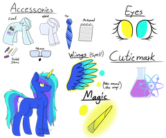 MLP ~ Aria  [Reference Sheet] by Aritina