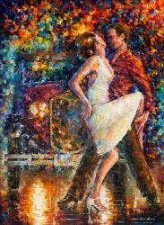 Eternal Emotions by Leonid Afremov by Leonidafremov