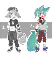 Adoptable Batch #3//CLOSED// by 00M0scaD0mestica00