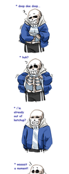 Sans makes an awful decision by neonUFO