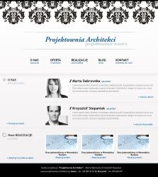 Website for architects layout by tysmin
