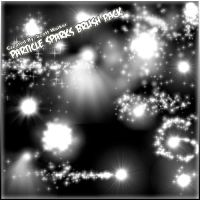 Particle Sparks Brush Pack: by SJWalker