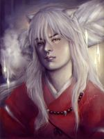 Inuyasha by onrie07